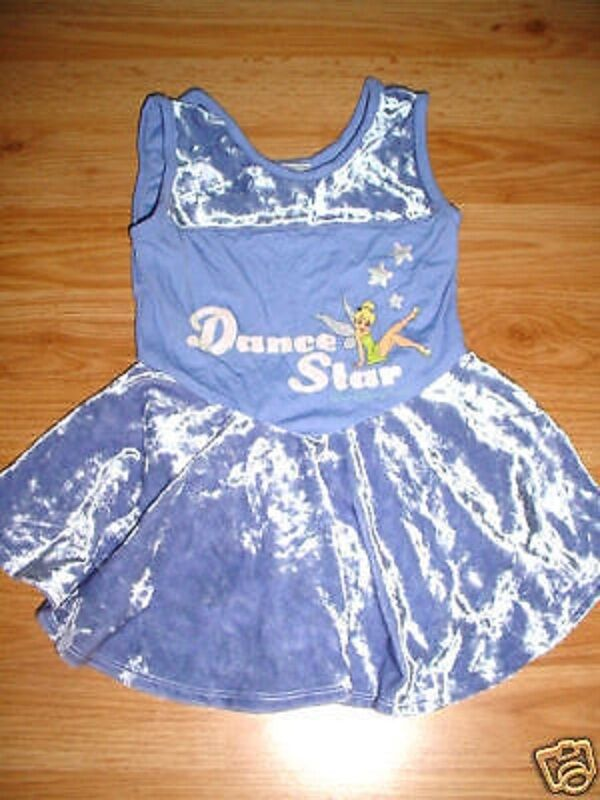 GIRL DANCE  ICE SKATING OUTFIT DRESS TINKERBELL-XS-4-6  customers first