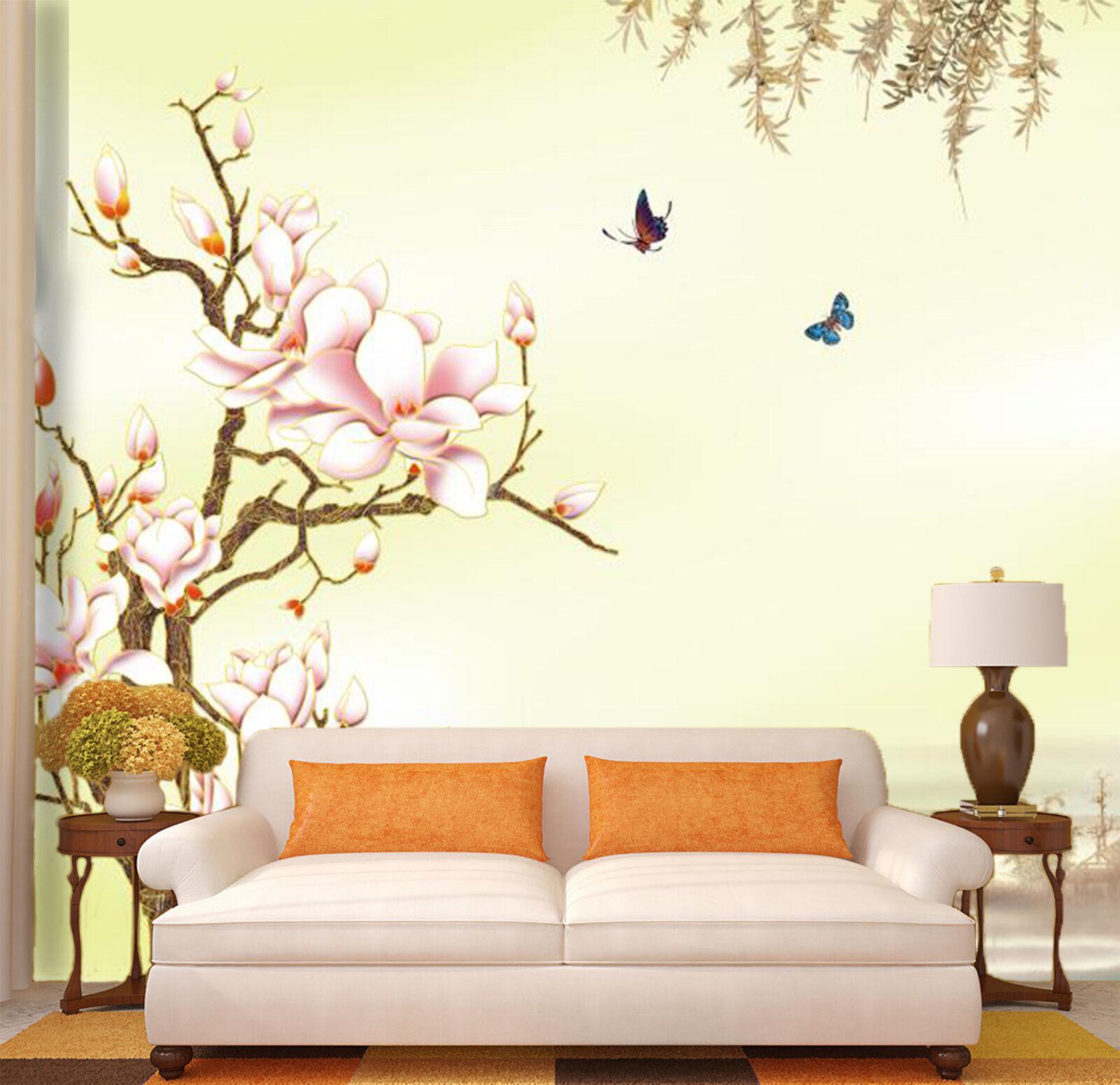 3D Squid Pink 47 Wallpaper Murals Wall Print Wallpaper Mural AJ WALL AU Lemon