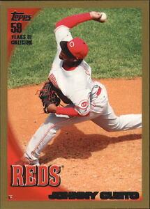 2010-Topps-Baseball-Gold-Border-Singles-Pick-Your-Cards