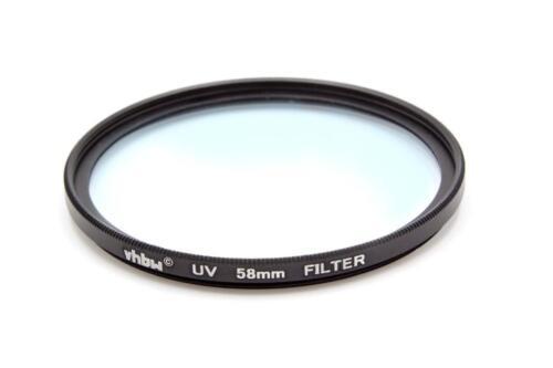 Kamera UV Schutzfilter mit Innen und Außengewinde für 58mm Objektivgewinde