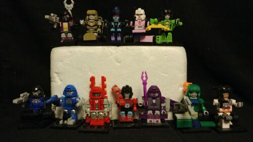 Kreo Kreon Transformers Micro Changers Series Collection 2 Figures Arcee Groove