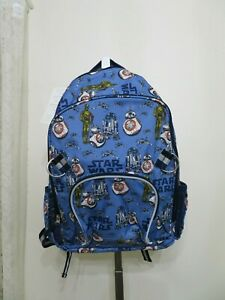 Details About Pottery Barn Kids Star Wars Large Backpack Book Bag New