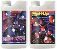 Advanced Nutrients Ph Up Or Down Liquid Water Adjuster 1l, 1 Liter, Concentrate