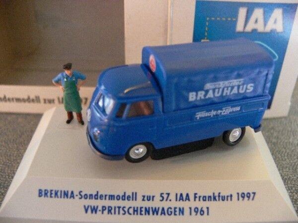 1 87 Brekina   0703 vw t1 B Pr Pl Frankfurter aime PC-Box