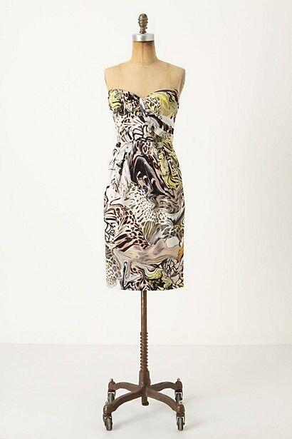 NWT Anthropologie Panther's Panther's Panther's Play Dress by Leifsdottir size 2 1a2209
