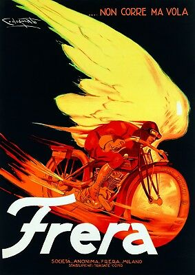 Decoration Poster.Home room art.Interior design.Frera motorcycle.Motor bike.7291