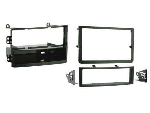 CT24NS05 pour NISSAN 350Z 2006-2008 noir simple ou DOUBLE DIN FASCIA adaptateur