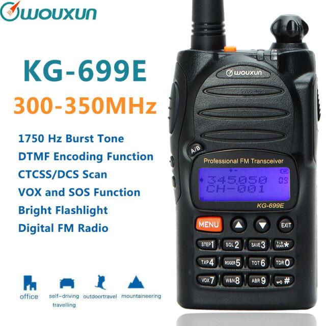 Wouxun KG-900 DMR UHF 400-470MHz Digital Handheld Two-way radio Walkie Talkie Transceiver