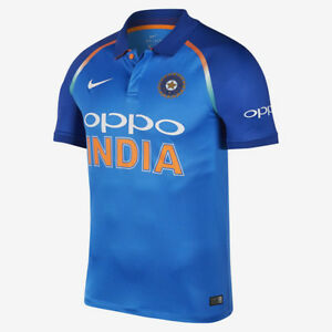 e5454395 NEW* OFFICIAL 2018 NIKE TEAM INDIA ONE DAY ODI CRICKET STADIUM ...