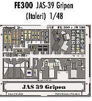 Frugal Eduard 1/48 Jas-39 Gripen Pre-painted Dans Colour! # Fe300-afficher Le Titre D'origine