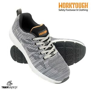 Worktough Rapid S1P SRC Grey Knitted