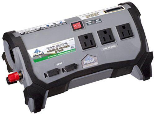 Peak Tailgate 400W Watt RV Car POWER INVERTER Portable DC 12v to AC 120v Charger
