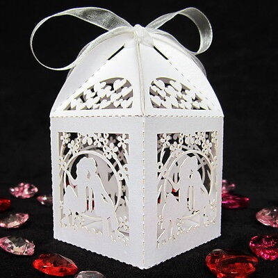 NEW Luxury Wedding Sweets Favour Boxes Wedding Favours Table Decorations UK