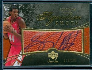 2007-08 Sweet Shot Signature Shots #SJ Solomon Jones  73/195