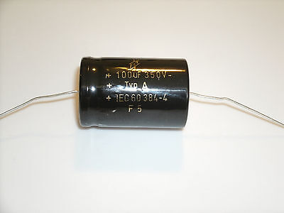 tube amp capacitors F/&T Electrolytic capacitors 22uf @ 500 volt axial capacitor