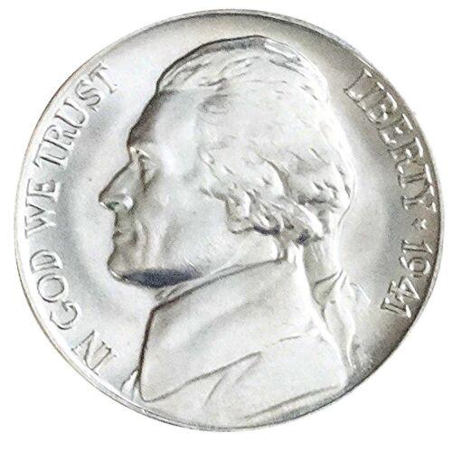 1941-D BU Jefferson Nickel