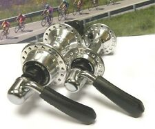 Shimano XT M732-730 36 holes hubset with skewers