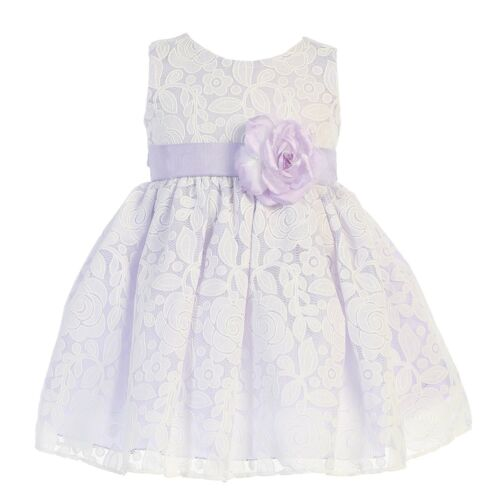 New Baby Toddler Kids Girls Floral Dress Pageant Wedding Easter Party Fancy M726