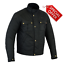 RKsports-Vintage-wax-Cotton-Short-Waterproof-Motorcycle-Motorbike-Jacket-CE thumbnail 1