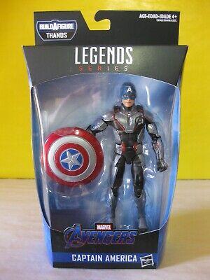 Marvel Legends MCU CAPTAIN AMERICA Loose No Armored Thanos BAF Endgame IN HAND!!