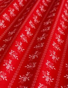 Mw 150 cm br ab 0,5 m Trachtenstoff Baumwollsatin € 13,00//qm türkis-weiß