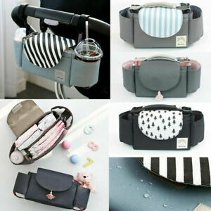 Baby-Organiser-Mummy-Bag-Storage-Buggy-Stroller-Pram-Pushchair-Bottle-Cup-Stands