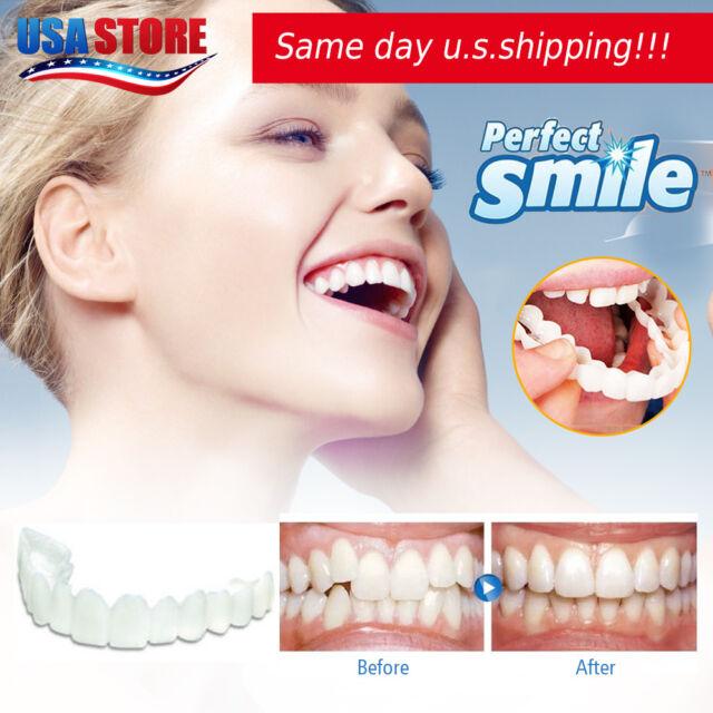New Cosmetic Dentistry Perfect Smile Comfort Fit Flex Teeth Veneers USA