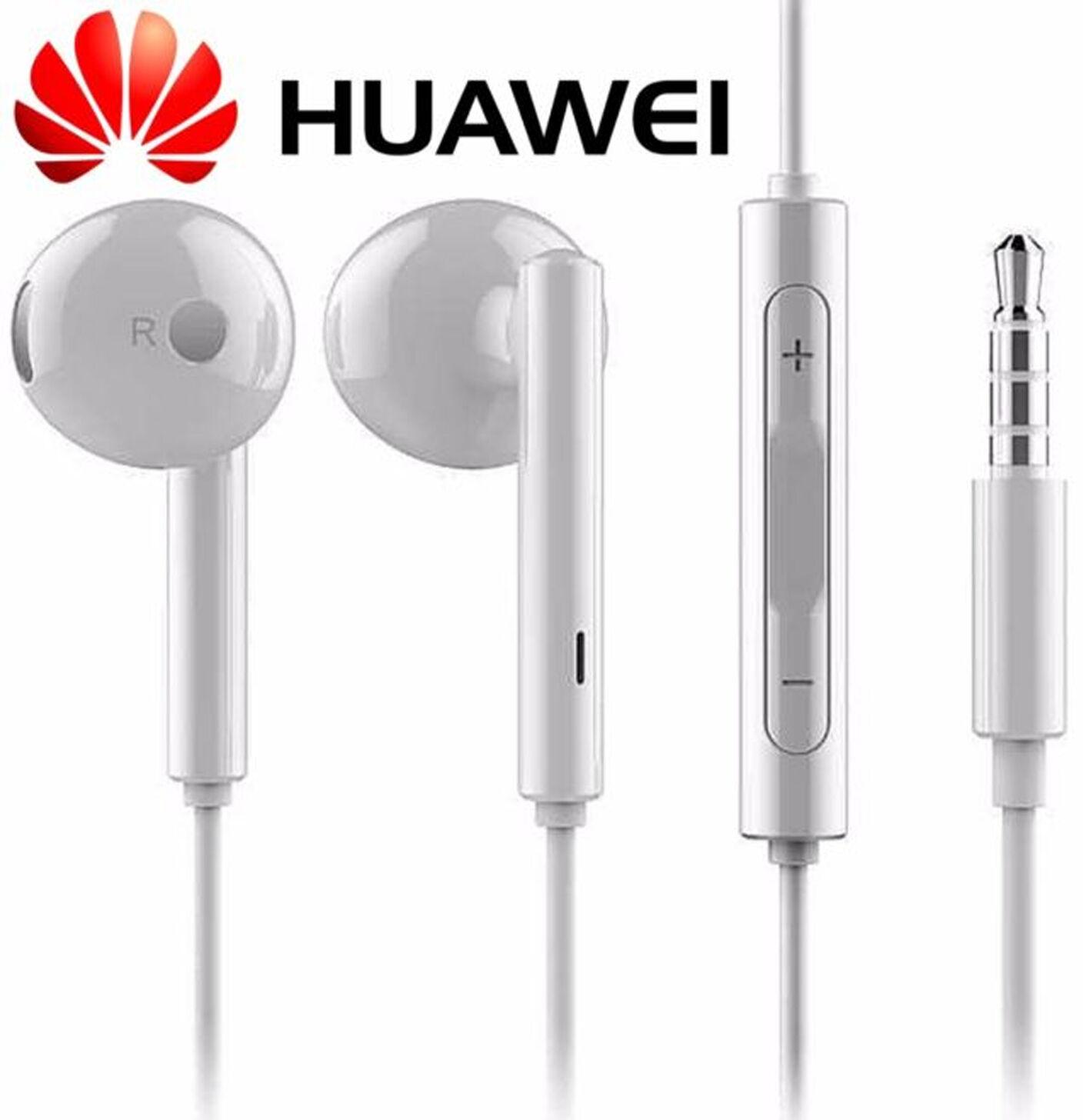 GENUINE HUAWEI EARPHONES HEADPHONES HANDSFREE FOR P9 P8 P9 ...