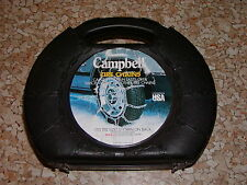 SNOW/TIRE CHAINS, CAMPBELL #1254, 225/60-16,  205/65-16, 215/65R16,  215/70-16