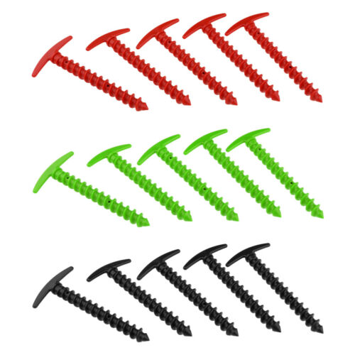 5pcs Zeltheringe Heringe Sandheringe aus Kunststoff