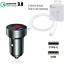 miniature 10 - Voiture Chargeur USB-C Voiture Chargeur Adaptateur TypC Apple iPhone 12 par Max Mini