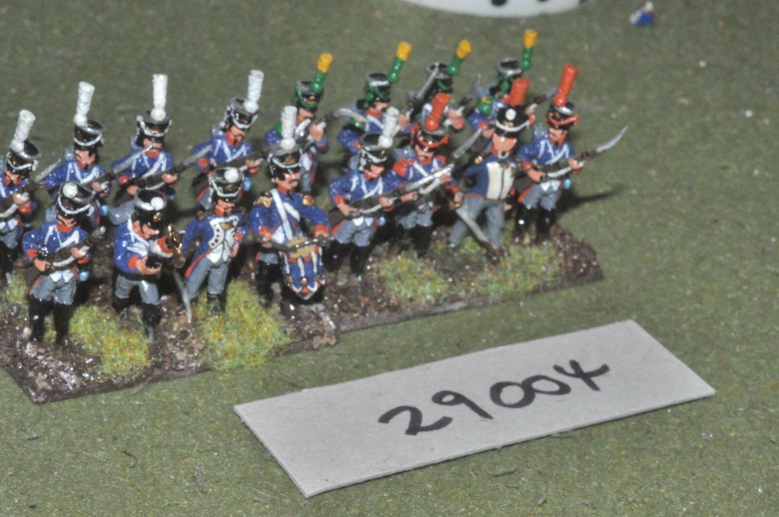 25mm napoleonic   french - line 16 figures - inf (29004)