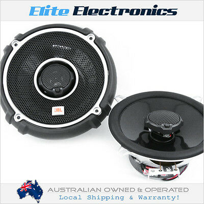 "JBL GTO-528 5-1/4"" 2-WAY 45W RMS 2OHMS COAXIAL STEREO CAR AUDIO SPEAKERS 5.24"""