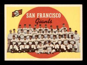 1959 Topps Set Break # 69 San Francisco Giants Team Card VG *OBGcards*