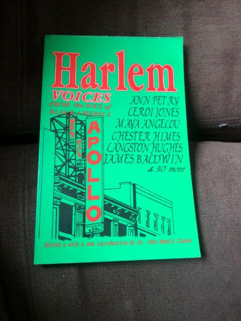HARLEM VOICES FROM SOUL OF BLACK AMERICA By John H. Clarke
