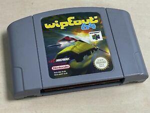 Nintendo 64 N64 Juego Wipeout 64-Cartucho únicamente