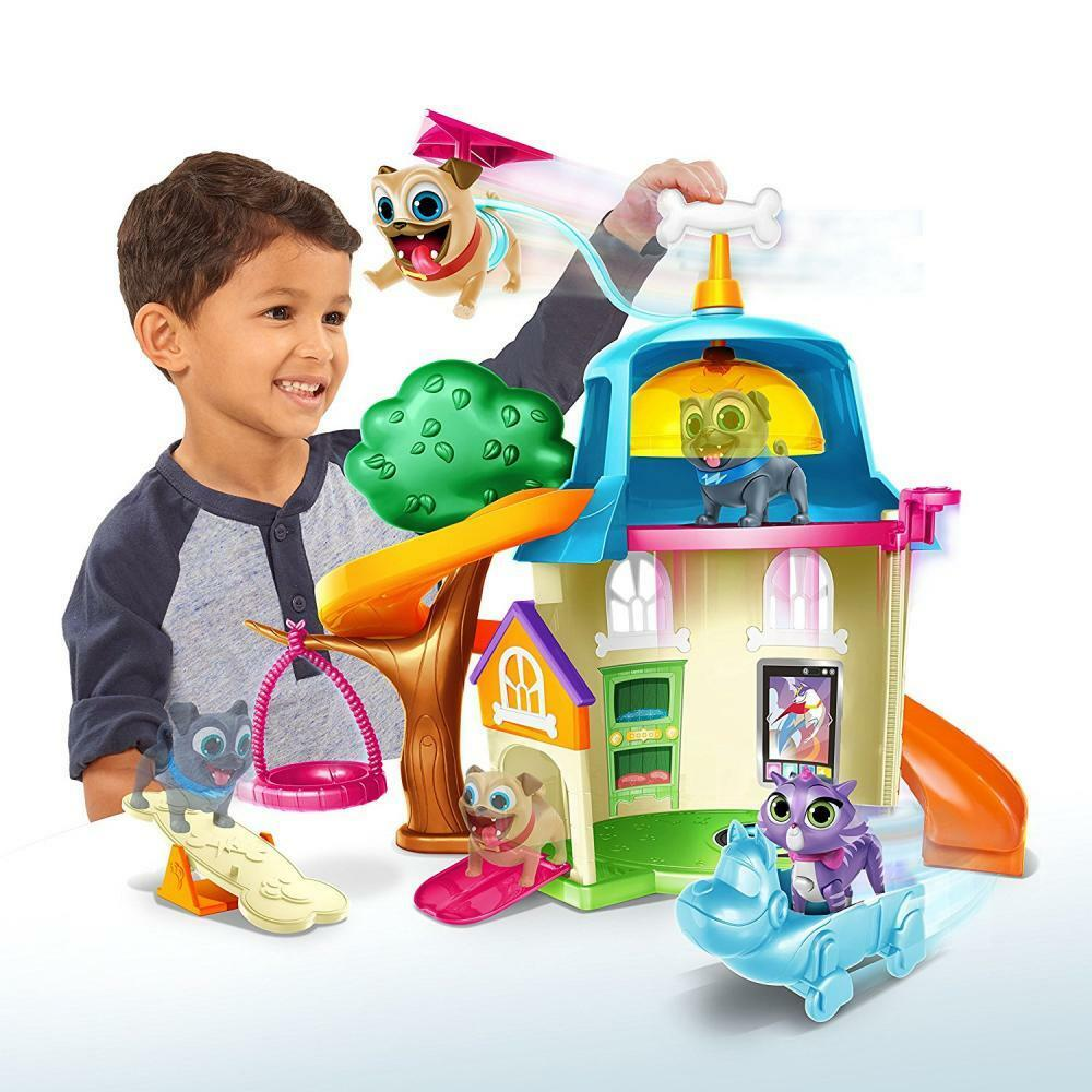 Kids Puppy Dog House Play Play Play Set Animals Kids Toddler Gift Boy Girl Toy Pretend New 4fa0af