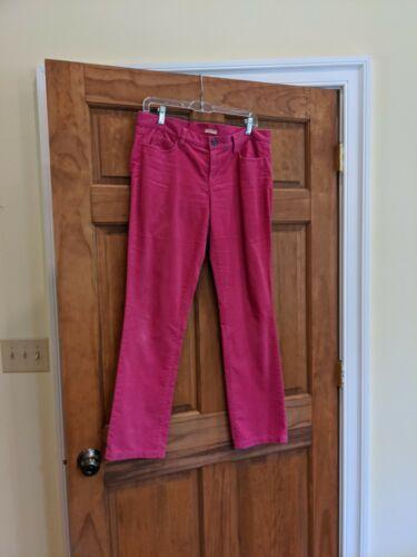 J CREW Wms Matchstick Vibrant Pink Stretch Corduro