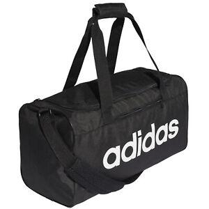 6044573ac2e65 Das Bild wird geladen adidas-Line-Core-Duffel-Sporttasche-S -Reisetasche-Trainingstasche-