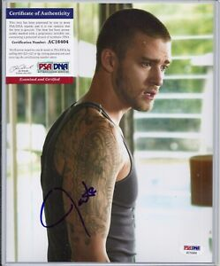 JUSTIN-TIMBERLAKE-IN-TIME-ALPHA-DOG-8x10-Signed-Autograph-PSA-COA