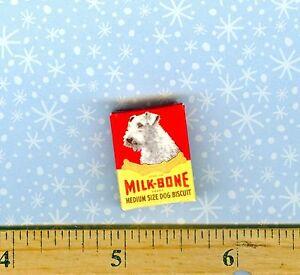 Strange Details About Dollhouse Miniatures Size Vintage Dog Treats Box Beutiful Home Inspiration Truamahrainfo