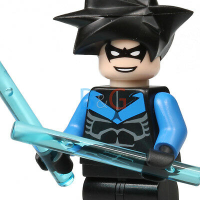 LEGO Nightwing Head Original Minifigure Figure 7785 BRAND NEW!!!!