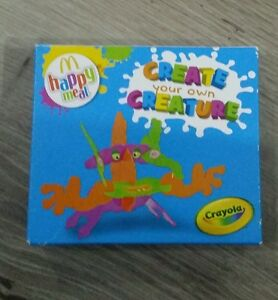 mcdonalds happy meal toy crayola create your own creature 2013 ebay