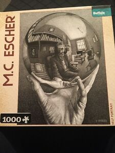 Buffalo-Games-M-C-Escher-Self-Portrait-1000pc-Jigsaw-Puzzle