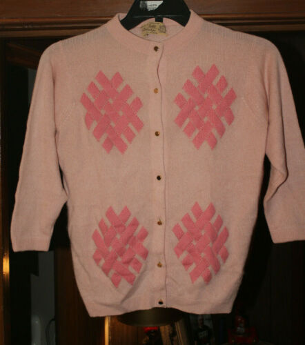 Pink Robert Gates Ballantyne Bonnie Cashin Gold B… - image 1