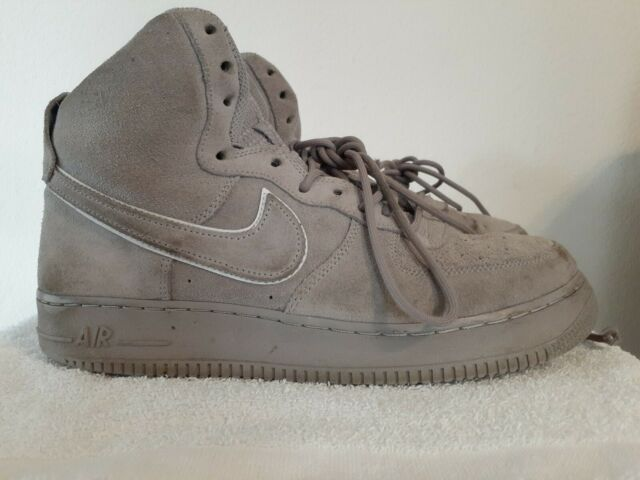 AIR FORCE 1 HIGH '07 LV8 SUEDE ATMOSPHERE GREYGUNSMOKE