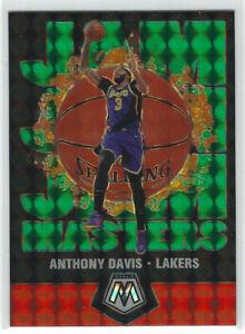 2019-20-Panini-Mosaic-JAM-MASTERS-Green-Prizm-17-Anthony-Davis-L-A-Lakers-NBA