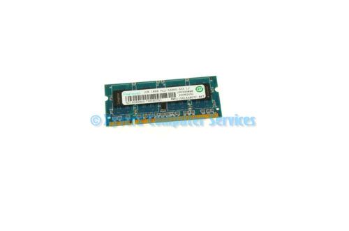CA69 RMN1150LA48D7F-667 GENUINE RAMAXEL LAPTOP MEMORY 1GB PC2-5300S