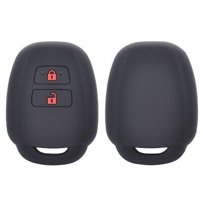 Silicone Remote Key Case For Toyota Aqua Ractis Vitz RAV4 Land Cruiser Fob Cover