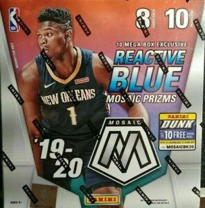 2019-20-Panini-MOSAIC-NBA-Basketball-Sealed-MEGA-Box-SHIPS-UPS-NEXT-DAY-AIR